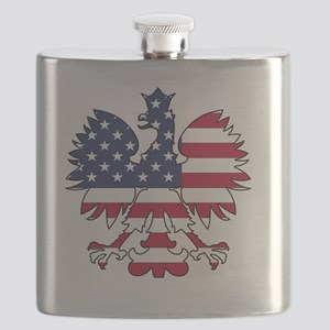 Polish American Eagle Flask