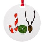 Christmas JOY Round Ornament