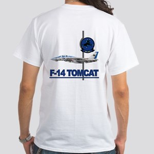 VF-213 Blacklions White T-Shirt