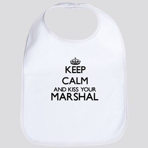 Keep calm and kiss your Marshal Bib
