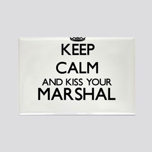 Keep calm and kiss your Marshal Magnets