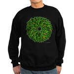 Christmas Holly Wreath Sweatshirt (dark)