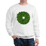 Christmas Holly Wreath Sweatshirt