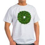 Christmas Holly Wreath Light T-Shirt