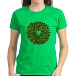 Christmas Holly Wreath Women's Dark T-Shirt