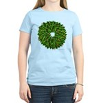 Christmas Holly Wreath Women's Light T-Shirt