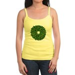 Christmas Holly Wreath Jr. Spaghetti Tank