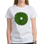 Christmas Holly Wreath Women's T-Shirt