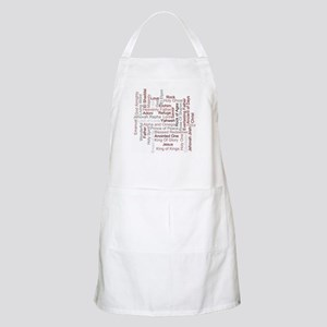 Names Of God Word Art Apron