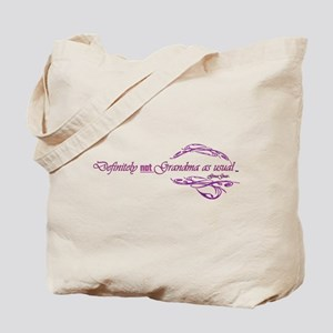 Gmagear Not Grandma As Usual Tote Bag