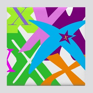 Initial Design (X) Tile Coaster