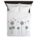 We Are All Just Fluff In The Wind Queen Duvet