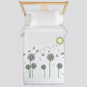 We Are All Just Fluff In The Wind Twin Duvet