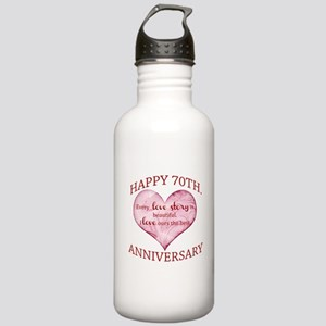 70th. Anniversary Stainless Water Bottle 1.0L
