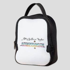 AutismHeartmobilepsd copy Neoprene Lunch Bag