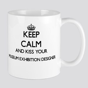 Keep calm and kiss your Museum Exhibition Des Mugs