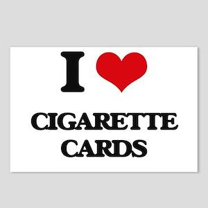 I Love Cigarette Cards Postcards (Package of 8)