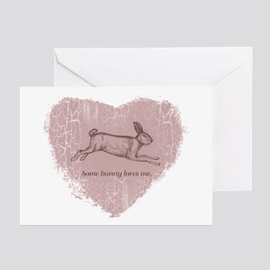"""Bunny Love"" Greeting Cards (Pk of 10)"