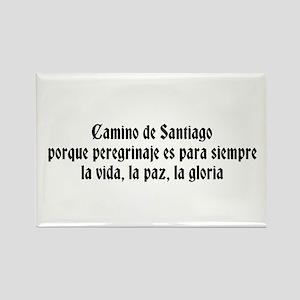Spanish Camino Saying Magnets