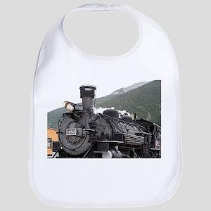 Steam train engine, Silverton, Colorado, USA 7 Bib