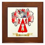 Hendrichs Framed Tile