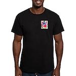 Hendrey Men's Fitted T-Shirt (dark)