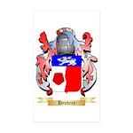 Hendrey Sticker (Rectangle 50 pk)
