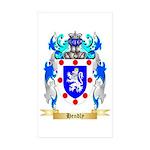 Hendly Sticker (Rectangle 10 pk)