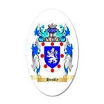 Hendly 20x12 Oval Wall Decal