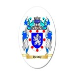 Hendly 35x21 Oval Wall Decal