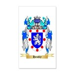 Hendly 20x12 Wall Decal