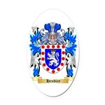 Hendley Oval Car Magnet