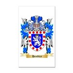 Hendley Rectangle Car Magnet
