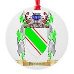 Hendiman Round Ornament