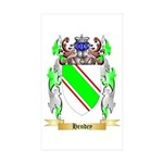 Hendey Sticker (Rectangle 50 pk)