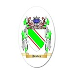 Hendey 35x21 Oval Wall Decal