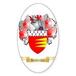 Henderson Sticker (Oval 50 pk)