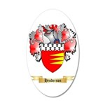 Henderson 20x12 Oval Wall Decal