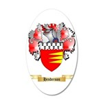 Henderson 35x21 Oval Wall Decal