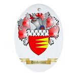 Henderson Ornament (Oval)