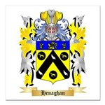 Henaghan Square Car Magnet 3