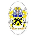 Henaghan Sticker (Oval 50 pk)