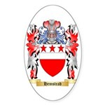 Hemstead Sticker (Oval 50 pk)