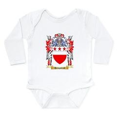 Hempstead Long Sleeve Infant Bodysuit