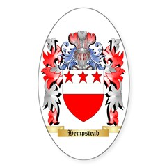 Hempstead Sticker (Oval 50 pk)