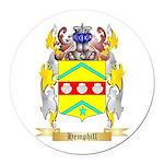 Hemphill Round Car Magnet