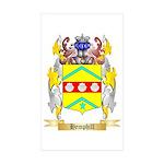 Hemphill Sticker (Rectangle 10 pk)