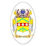 Hemphill Sticker (Oval 10 pk)