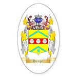 Hempel Sticker (Oval 10 pk)