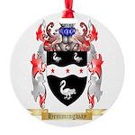 Hemmingway Round Ornament